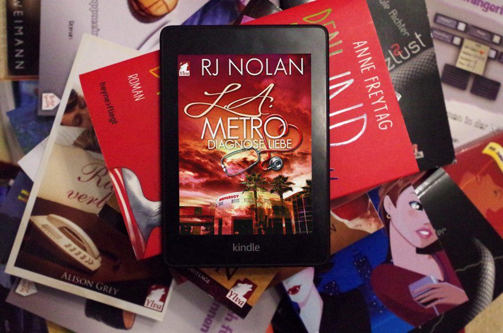 Lesbischer Roman LA Metro Diagnose Liebe von RJ Nolan