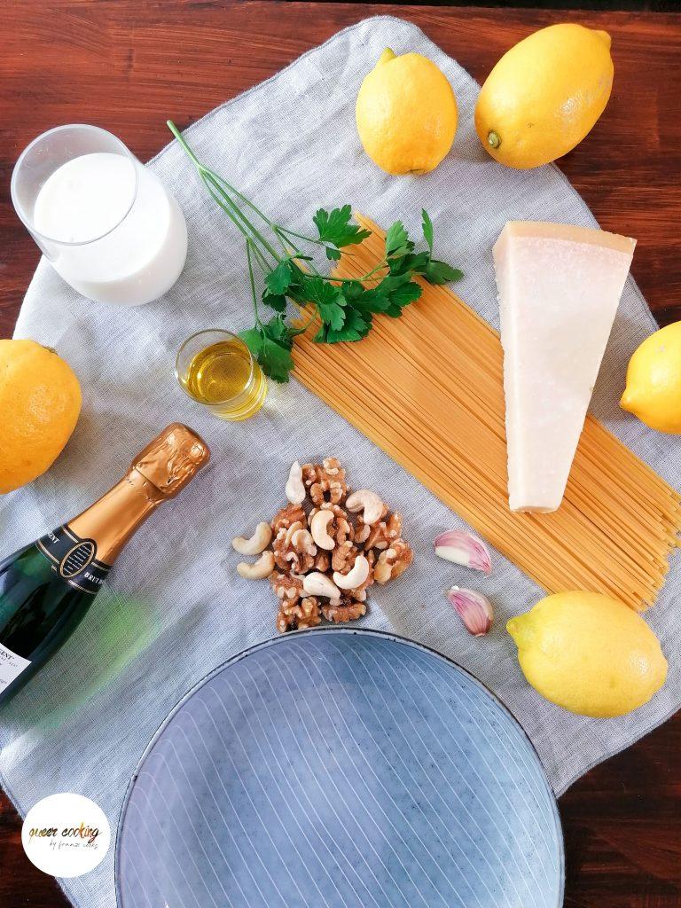 Queer Cooking Zitronenpasta Busenfreundin - Das Magazin Franzi Cooks