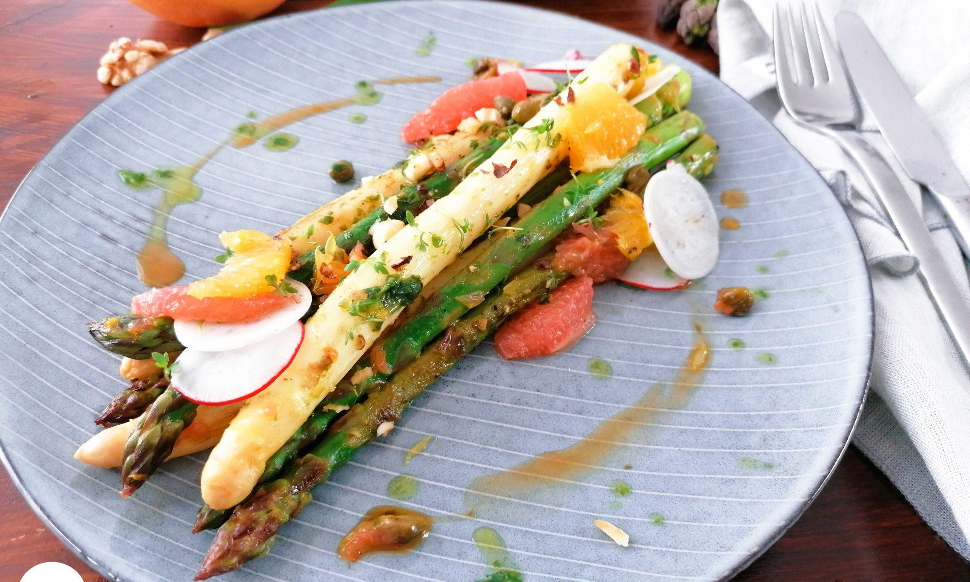 Spritziger Fruehlingscrush - Der Spargelsalat Queer Cooking mit franzi cooks 1