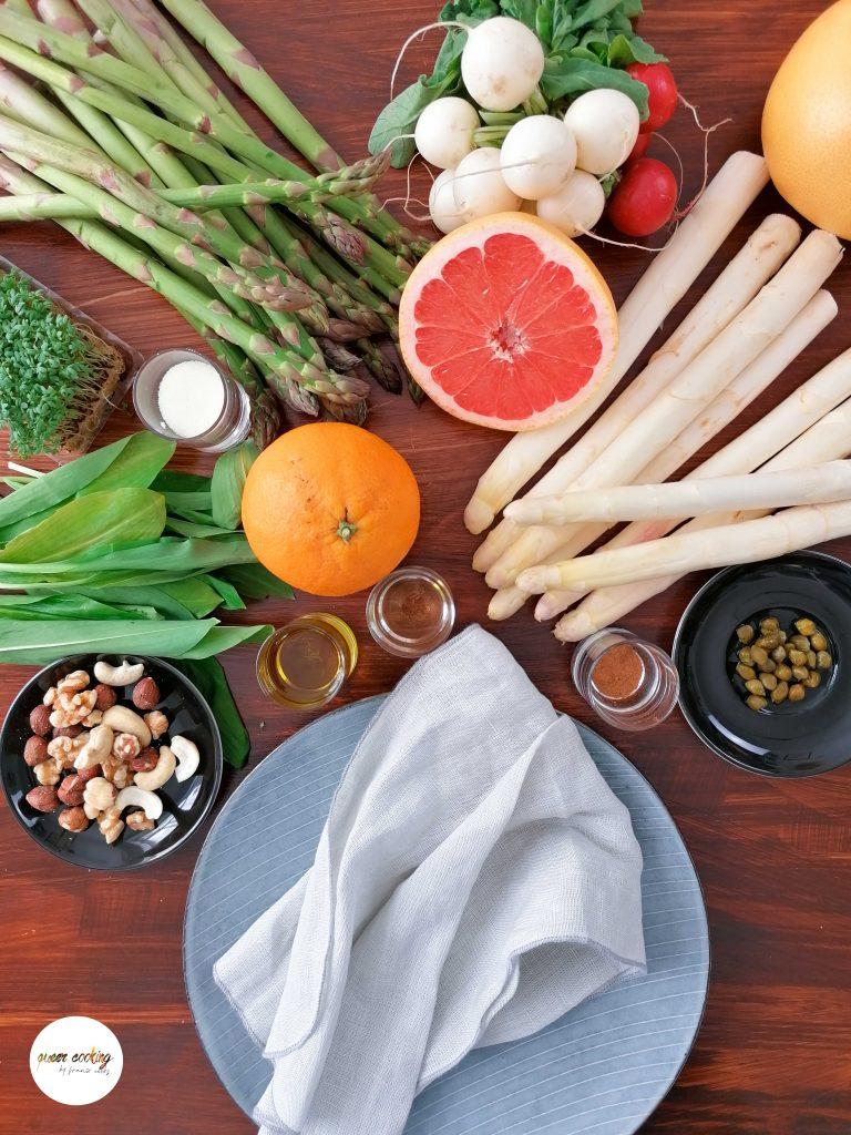Spritziger Fruehlingscrush - Der Spargelsalat Queer Cooking mit franzi cooks 2