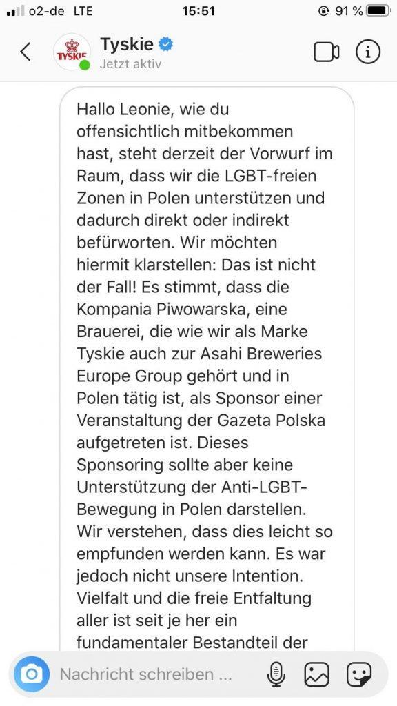 Tyskie-LGBT-Bier-Boykott