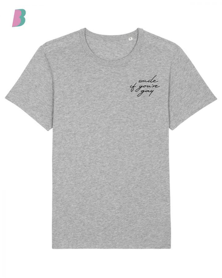 Busenfreundin-Shirt-grey-smilegay-black